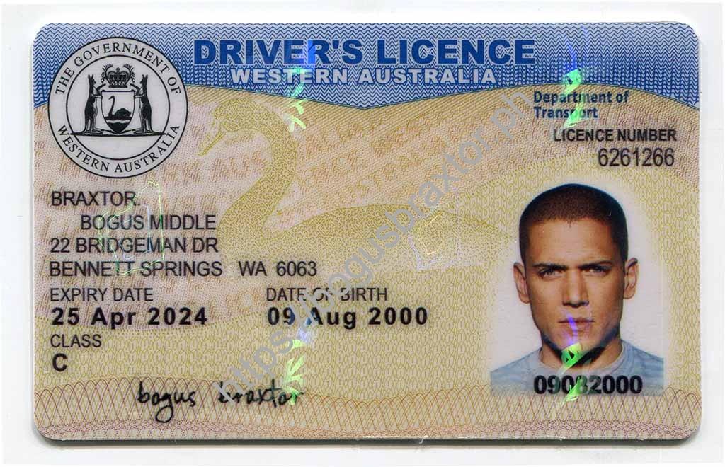 irish drivers license in australia