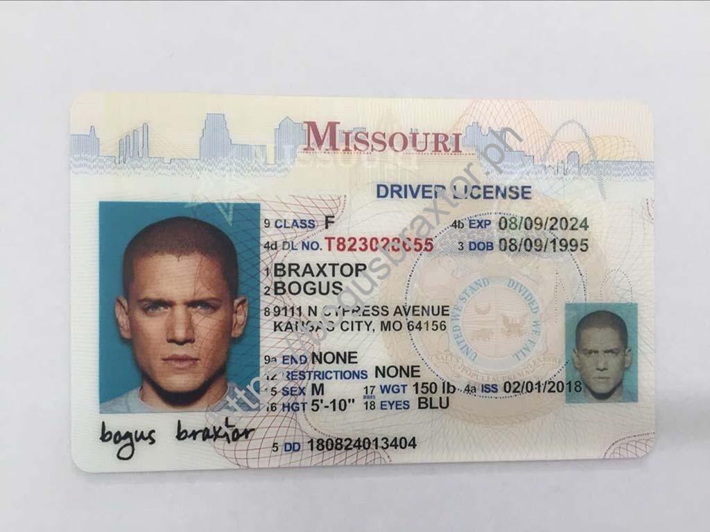 missouri drivers license mailing status