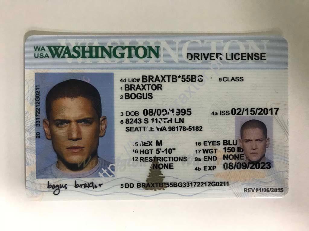 new washington drivers license 2017