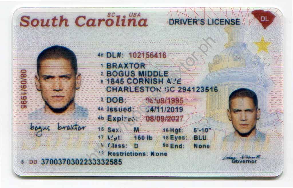 drivers license age south carolina